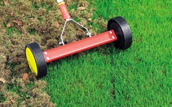 Scarificateur pelouse fait maison