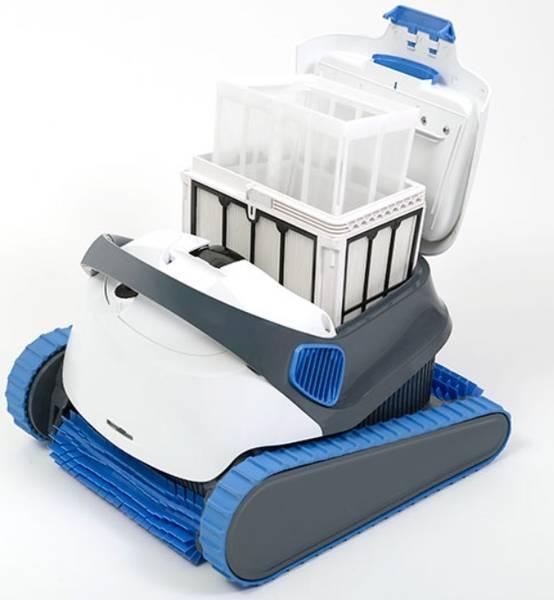 Robot piscine surface