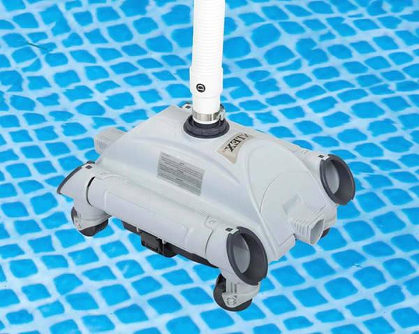 Robot electrique pour piscine hors sol